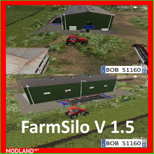 FS19 FARMSILO (REWORKED BY BOB51160)