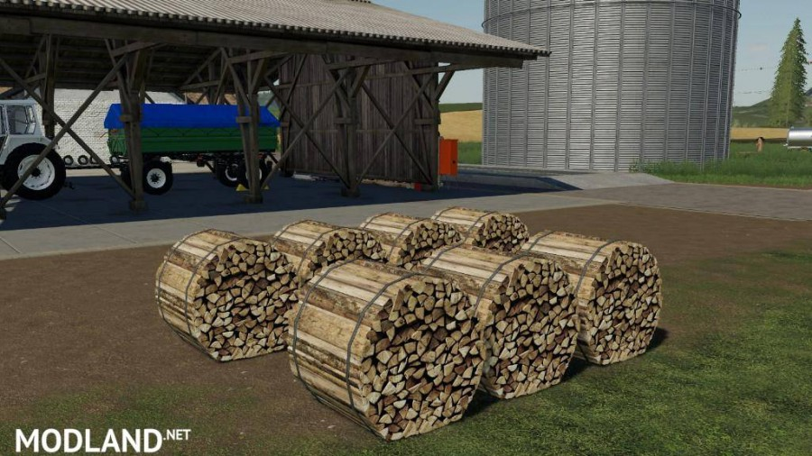 Bunched Firewood