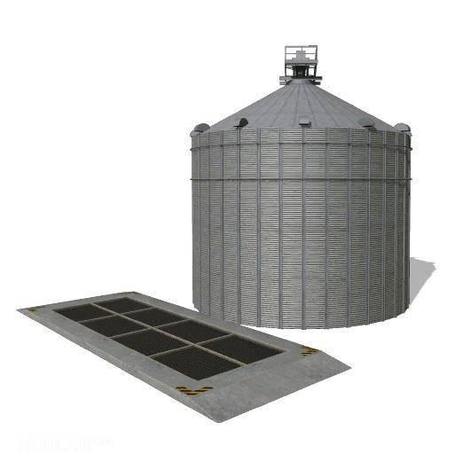 Farm Silo Modified