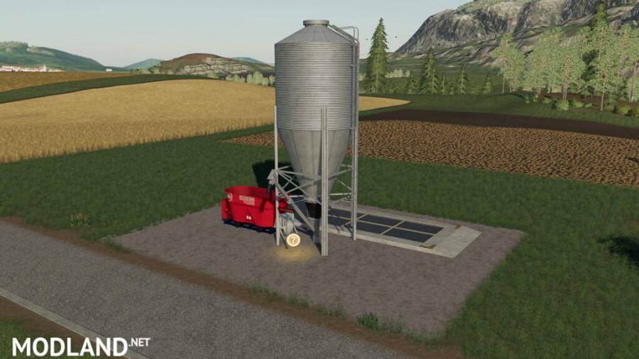 Farm Silos For Total Mixed Ration