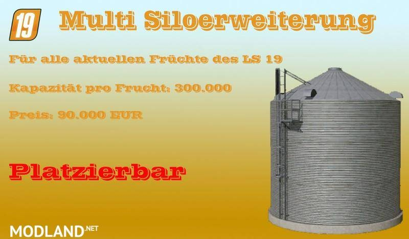Multi silo extension