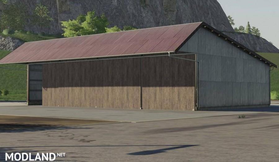 Old mashinery shed