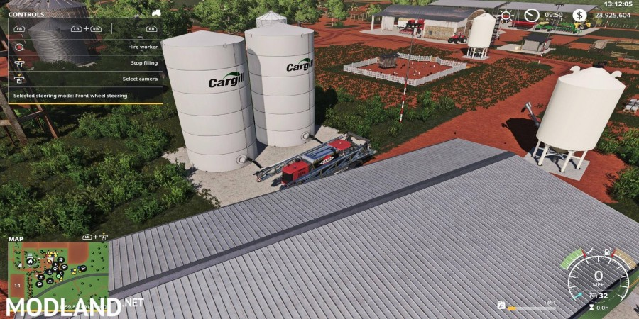 Placeable Cargill Liquid Fert Refill Tanks