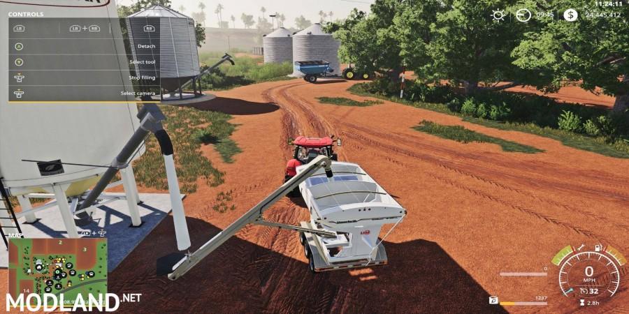 Placeable Fertilizer Station w/Auger