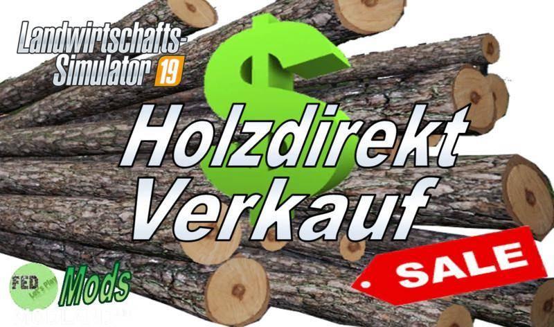 Wood directly sale