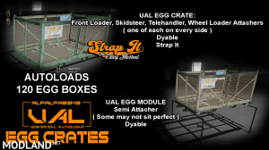 Iconik UAL Egg Crates, 1 photo
