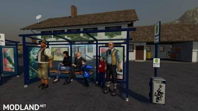 3 Bushaltestellen Platzierbar v 1.0 - Direct Download image
