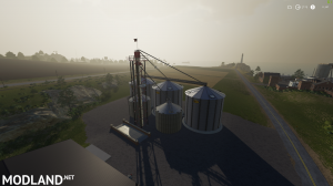Placeable Animated Large Grain Storag Complex