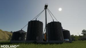 US grain silo complex with dryer(FIX)