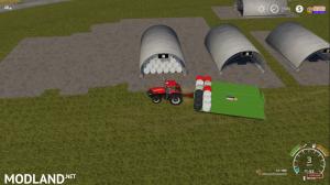 Automatic Large Round Bale Storage
