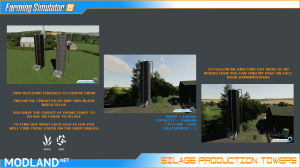 SILAGE PRODUCTION TOWER PACK, 1 photo