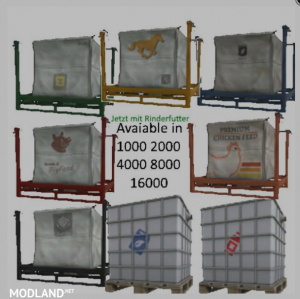 VARIABLE SIZE PALLETS v 1.5