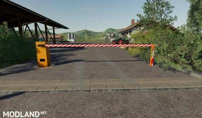 Automatic barrier placeable v 1.0