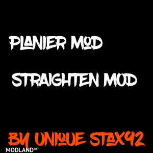 Planier/Straighten Mod V0.1.5.0