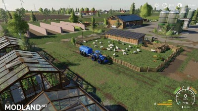 Cowshed 2000 without animal limit + no pollution + accessories v 1.3, 12 photo