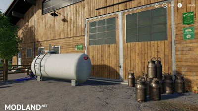 Cowshed 2000 without animal limit + no pollution + accessories v 1.3, 3 photo
