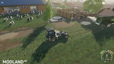 Cowshed 2000 without animal limit + no pollution + accessories v 1.3, 4 photo