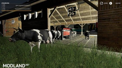 Cowshed 2000 without animal limit + no pollution + accessories v 1.3, 6 photo