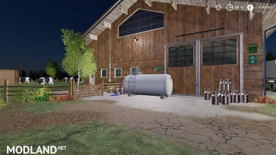 Cowshed 2000 without animal limit + no pollution + accessories v 1.3, 7 photo