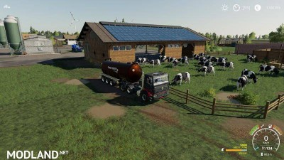 Cowshed 2000 without animal limit + no pollution + accessories v 1.3, 8 photo