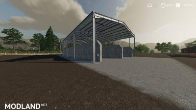 Double Silage Silo Placeable v 1.0, 2 photo