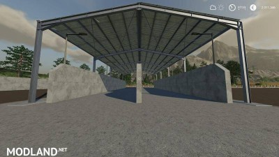 Double Silage Silo Placeable v 1.0, 3 photo