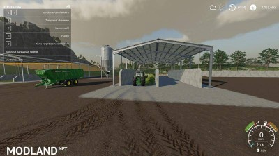 Double Silage Silo Placeable v 1.0, 1 photo