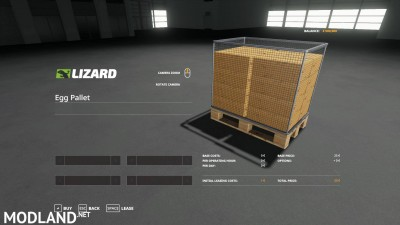 Egg pallet 14400 v 1.0 - External Download image