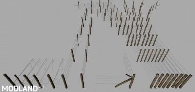 FS 19 Barbed Wire Fence Kit v 1.0, 3 photo