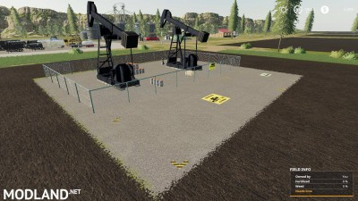 FS 19 Crude Oil Derrick v 1.0, 1 photo