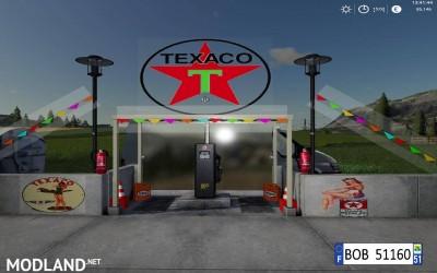 FS19 Station Texaco BY BOB51160 v 1.0