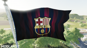 Barcelona Flag v 1.0 - External Download image