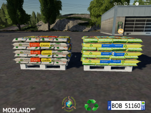 Fertilizer Seeds Pallets by BOB51160, 1 photo