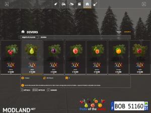 FS19 Fruits Trees By BOB51160 1.0, 3 photo