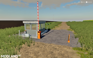 FS 19 Security Booth With Barrier