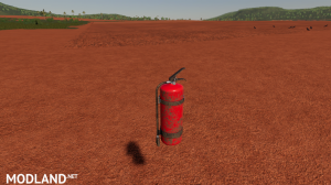 Fire Extinguisher Prefab, 1 photo