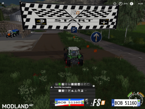 FS19 Pack Starting Point For Course Play By BOB51160