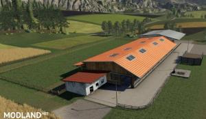 FS19 Placeable cow pasture / dairy farm