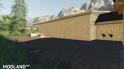 Horse stable with riding hall v 1.0, 3 photo