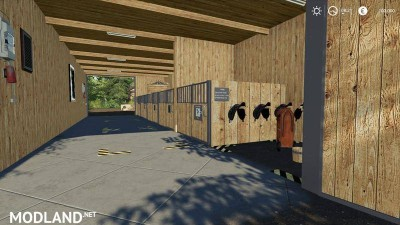 Horse stable with riding hall v 1.0, 5 photo