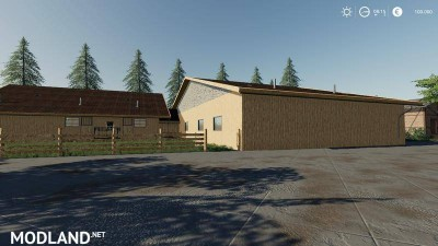 Horse stable with riding hall v 1.0, 6 photo