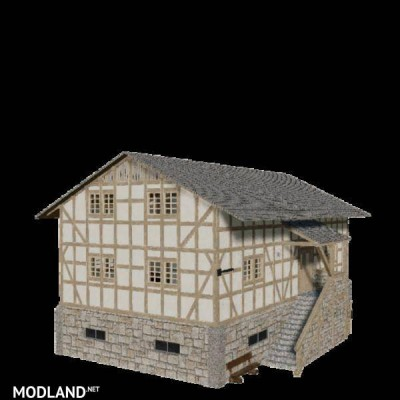 HoT timbered house pack v 1.0 - External Download image