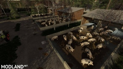 Outdoor Piglet Husbandry v 1.0