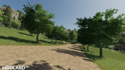 Placeable Fruit Trees v 1.0