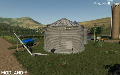 Placeable Grain Silo system v 1.1, 2 photo