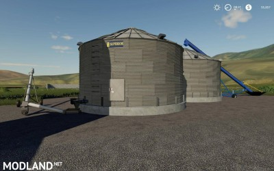 Placeable Grain Silo system v 1.1 - External Download image