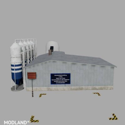 Placeable pig feed mixing plant with level indicators v 1.0.3.0, 3 photo