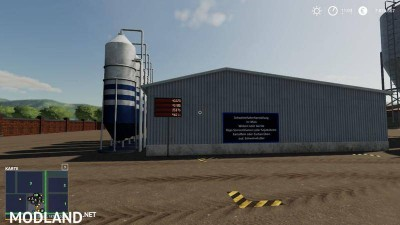 Placeable pig feed mixing plant with level indicators v 1.0.3.0 - Direct Download image