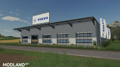 Placeable Volvo hall v 1.0, 2 photo