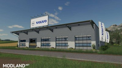 Placeable Volvo hall v 1.0, 3 photo